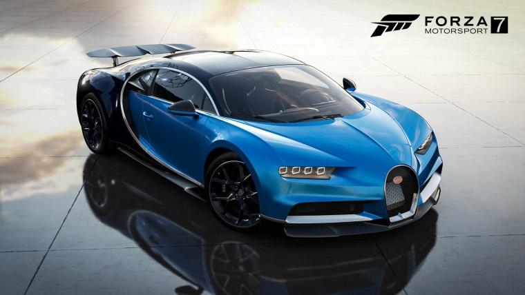Forza Motorsport 7 dostáva Bugatti Chiron a ďalšie autá
