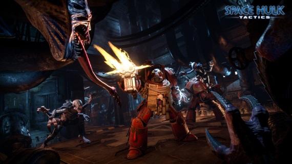 Taktická ťahovka Space Hulk: Tactics z univerza Warhammer 40,000 ohlásená