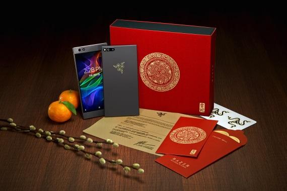 Razer predstavil Gold edíciu Razer Phone