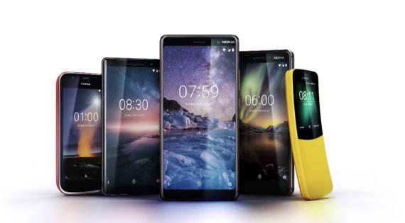 Nokia ohlásila päť nových mobilov