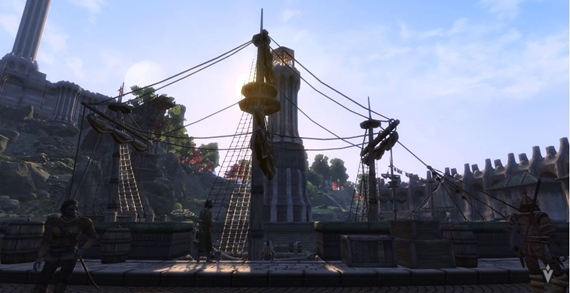 Skyblivion mod ukazuje Imperial City prepracované v Skyrime