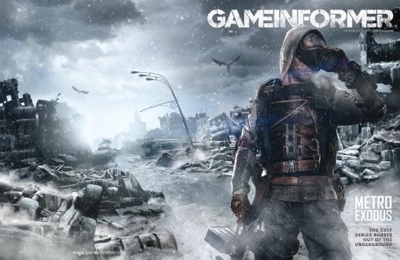 Nový Gameinformer na svojich stránkach odhalí Metro Exodus