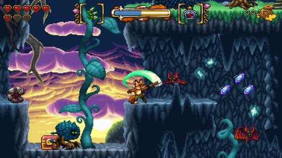 Akčná 2D plošinovka s puzzle prvkami a retro šarmom Fox n Forests vyjde na jar