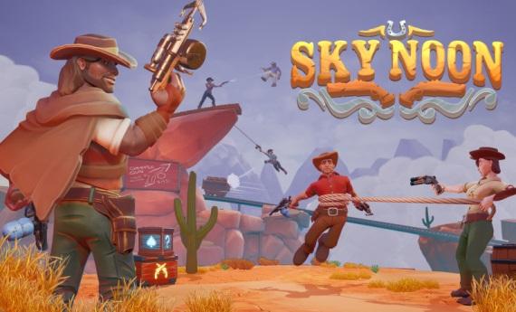 Sky Noon je farebný western, v ktorom musíte vytlačiť protihráčov z mapy