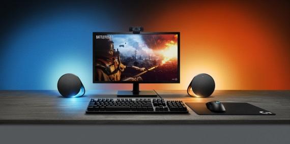 Logitech G séria sa obohatí o reproduktory G560 a klávesnice G513, všetky s novou Lightsync technológiou