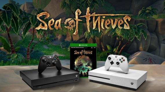 K Xbox One X konzole bude do konca mesiaca zadarmo pribalený Sea of Thieves