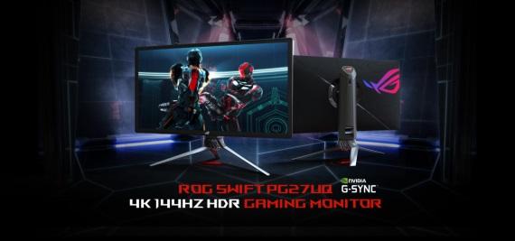 Herné 4K HDR monitory s G-sync prídu už v apríli