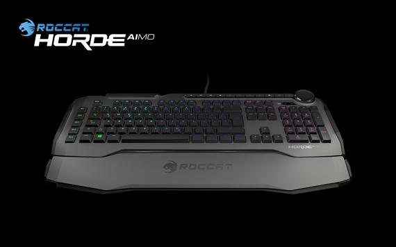 Roccat na trh uviedol novú hernú klávesnicu Horde AIMO