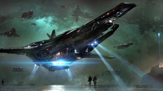 Star Citizen ukazuje lode a AI v Squadron 42 časti hry