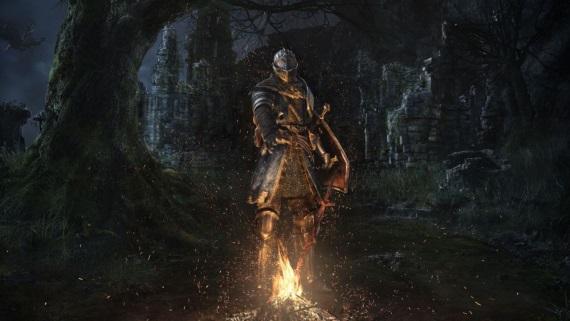 Ukážka Blighttownu z Dark Souls Remastered
