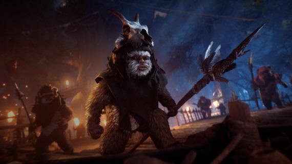 Star Wars Battlefront II pridá v ďalšom update Ewokov a kozmetické mikrotransakcie