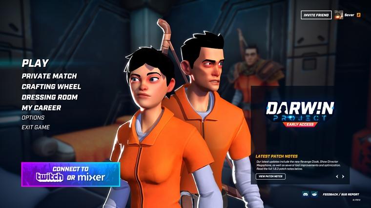 Battle Royale titul Darwin Project prešiel na free 2 play. Aký vlastne je?