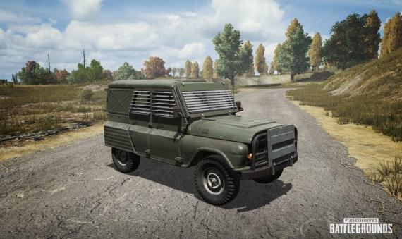 PUBG pridáva nový event, môžete si v ňom zavolať obrnené vozidlo