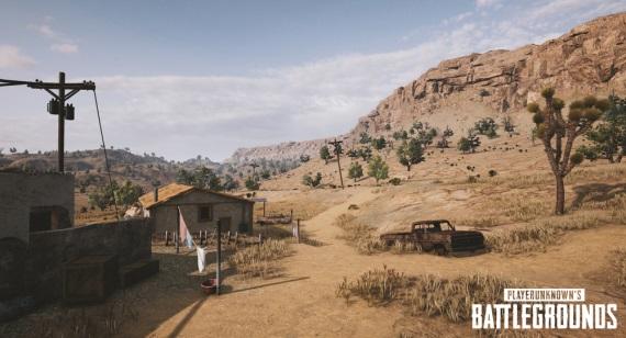 PUBG dostal na Xbox One púštnu mapu na testovanie a na PC ukazuje nové menu