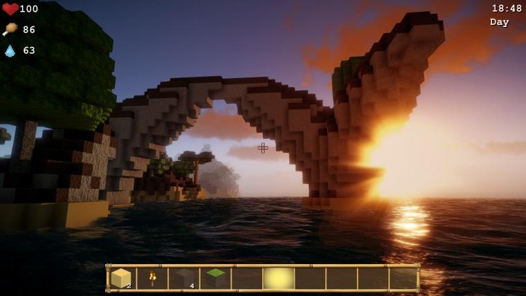 Slovenský titul Cube Life: Island Survival vyšiel na Steame
