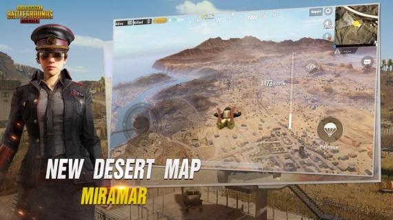 PUBG Mobile dostal 0.5.0 verziu, pridáva Miramar mapu