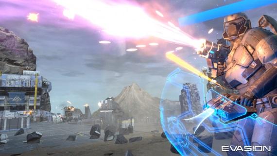 Kooperatívna VR akcia Evasion sľubuje efektné aj vizuálne príťažlivé boje