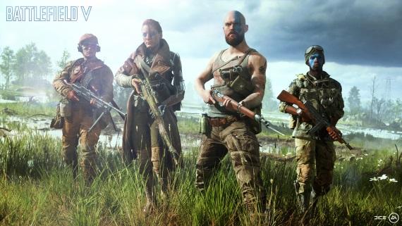 Battlefield V wallpapery