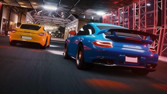Microsoft pripravuje novú racingovku Miami Street, bude pre Windows 10 a Andromedu