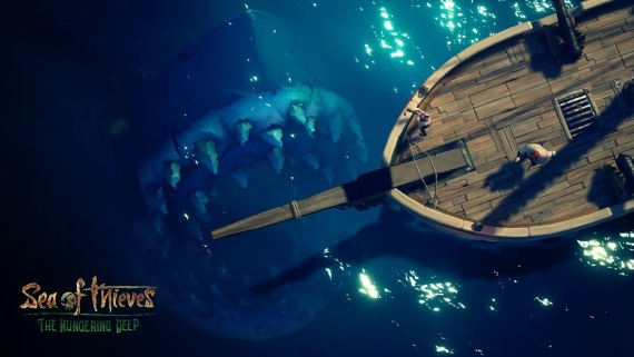 Sea of Thieves dostal prvé rozšírenie - The Hungering Deep