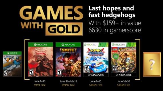 Games with Gold hry na jún predstavené