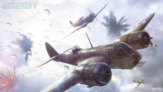 Battlefield V predstavil nový Airborne mód, multiplayer bude mať historické obmedzenia na skiny