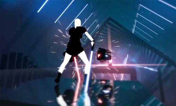 Beat Saber je najlepšie hodnotenou hrou na Steame, dostane editor