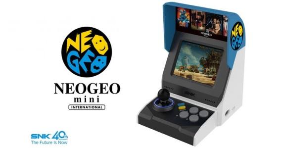 SNK v prezentácii detailne predstavuje retro konzolu NeoGeo Mini