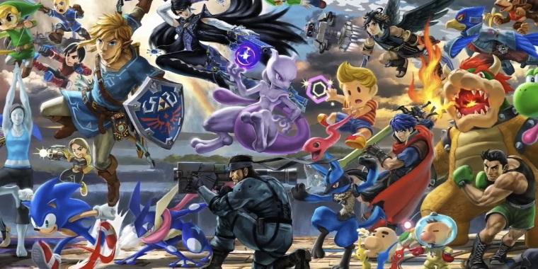 Super Smash Bros. Ultimate prinesie každú postavu v histórii série
