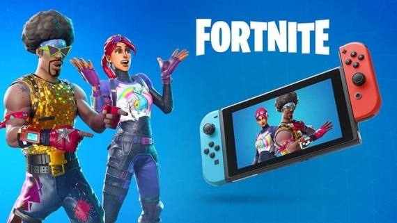 Pozrite si 25 minút z hrania Fortnite na Nintendo Switch
