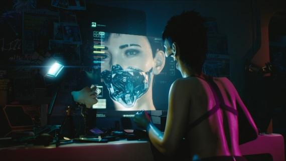 Porovnanie konceptov Cyberpunk 2077 so zábermi z traileru