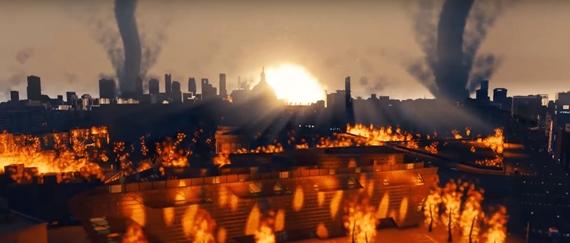 Pozrite sa na 25-minútový katastrofický film vytvorený v Cities: Skylines