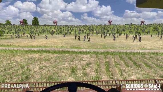 Niekoľko (nekvalitných) záberov zo Serious Sam 4