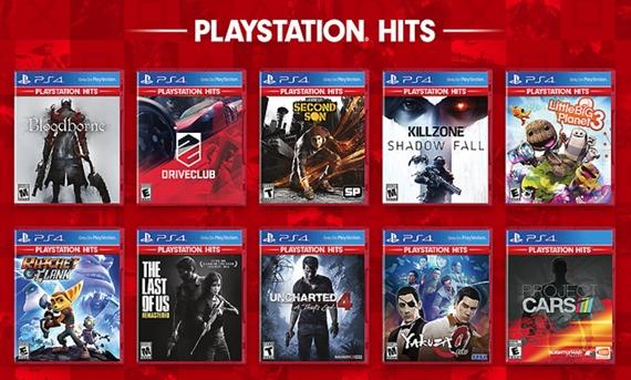 Sony rozbieha Playstation Hits edíciu hier na PS4