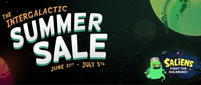 Steam spustil intergalaktický letný výpredaj