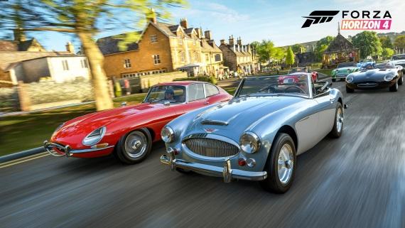 Bude toto zoznam vozidiel pre Forza Horizon 4 ?