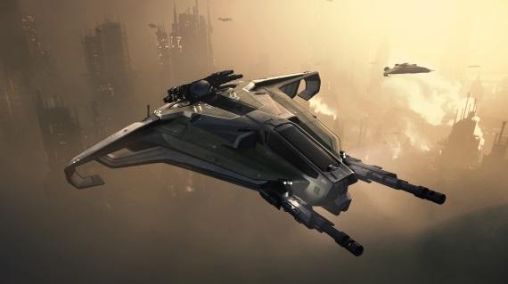 Star Citizen dostáva v novej alfa verzii možnosti ťažby a skupinového skoku
