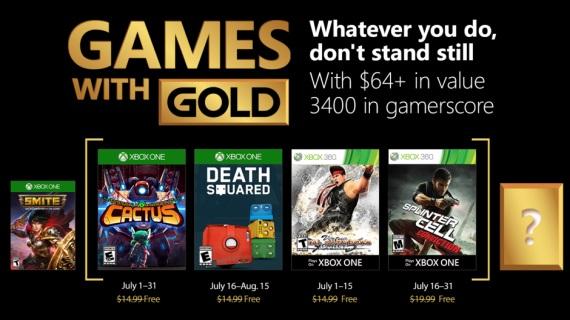 Games With Gold hry na júl predstavené