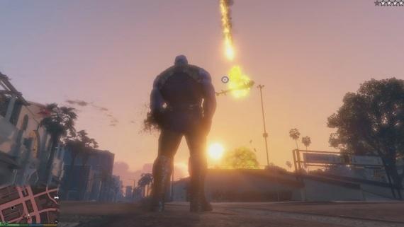 Thanos mod pre GTA V je dostupný na stiahnutie