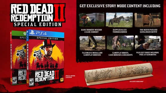 Red Dead Redemption 2 predstavil edície hry