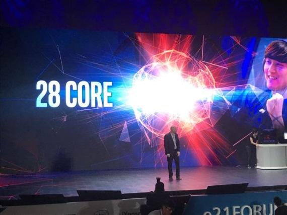 Intel prinesie 28-jadrový procesor koncom roka