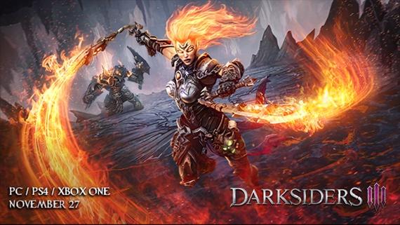 Fury sa ukazuje v akcii v novom videu z Darksiders III