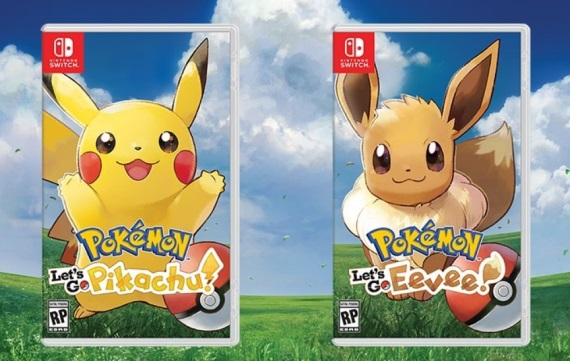 Pokémon Let's Go, Pikachu!/Eevee! ukazuje možnosti hry, upravovanie Pokémonov a aj mapu