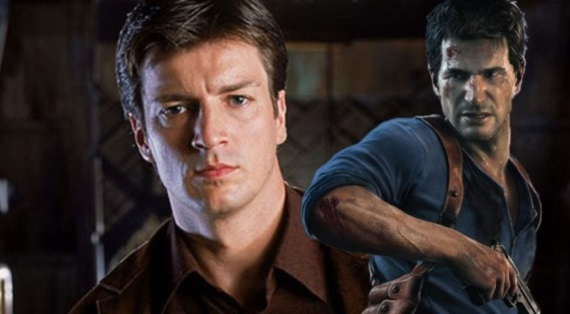 Teasuje Nathan Fillion Uncharted film?