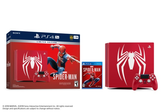 Sony ponúkne PS4 Pro bundle so Spider-Man témou