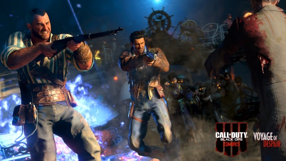 CoD: Black Ops IIII ukazuje Blood of the Dead zombie kapitolu a ohlasuje Mystery Box edíciu