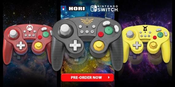 Hori prinesie svoje nové ovládače pre Switch v októbri