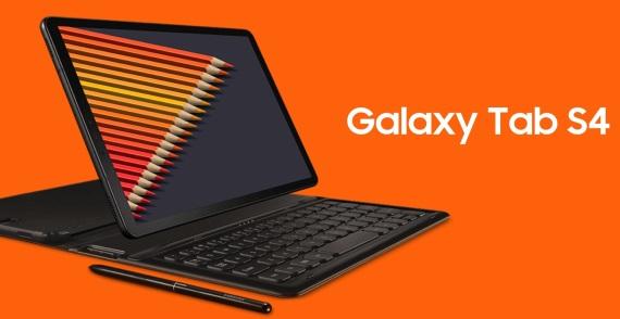 Samsung predstavil Galaxy Tab S4