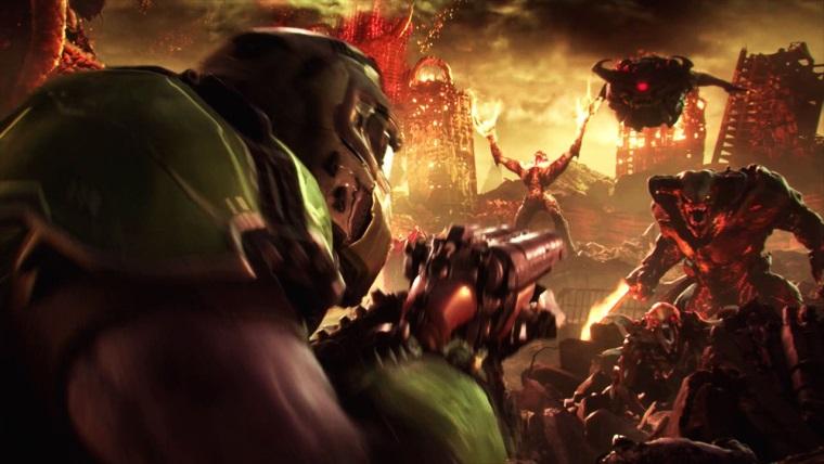 Doom Eternal sa nám prvý raz predviedol a vyzerá brutálne