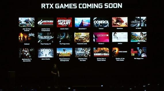 Raytracingové RTX funkcie už plánuje zapracovať 21 hier